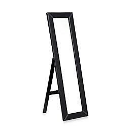 Baxton Studio McLean Floor Mirror with Stand