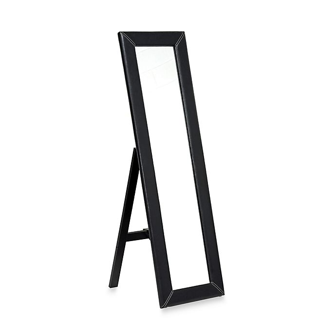 Alternate image 1 for Baxton Studio McLean Floor Mirror with Stand