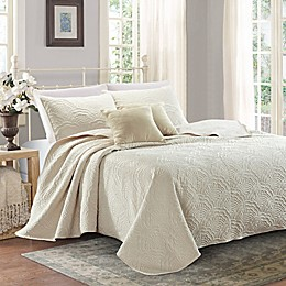 Sherry Kline Shell Luxury Embroidered Quilt Set