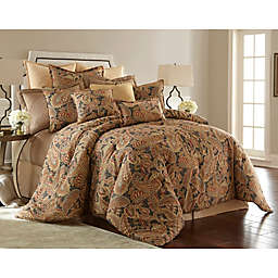 Sherry Kline Venetian King Comforter Set<em> </em>in Charcoal