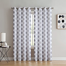Spiral Grommet Window Curtain Panel