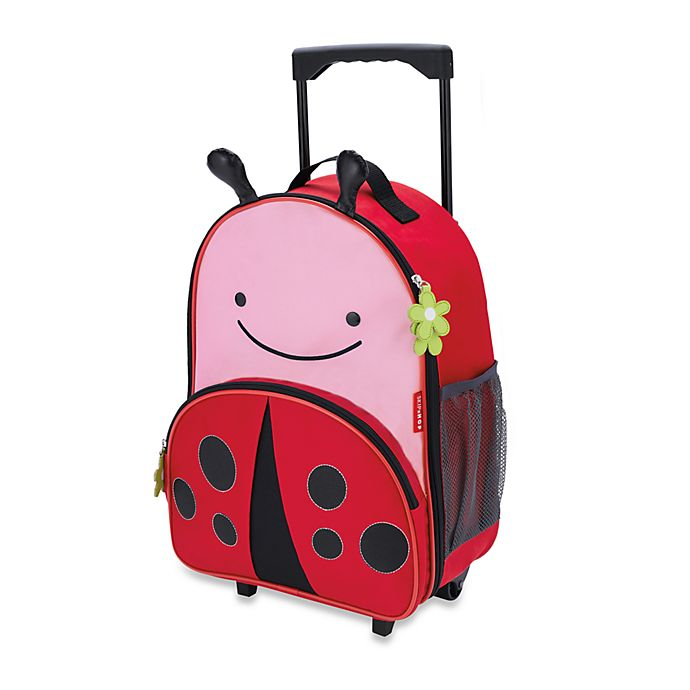 Alternate image 1 for SKIP*HOP® Zoo Little Kid Rolling Luggage in Ladybug