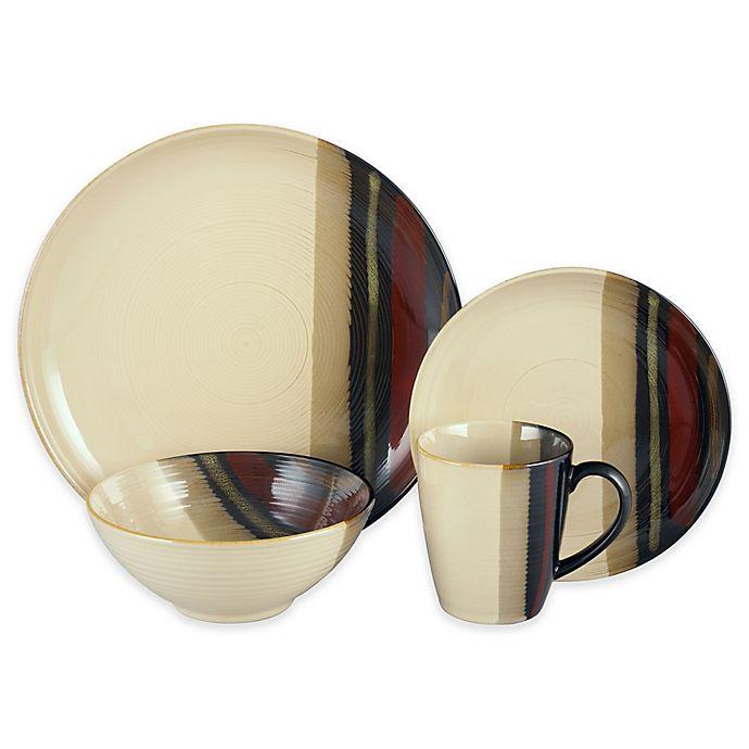 Alternate image 1 for Sango® Alpha 16-Piece Dinnerware Set in White