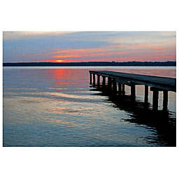 Masterpiece Art Gallery Twilight Pier I Canvas Wall Art