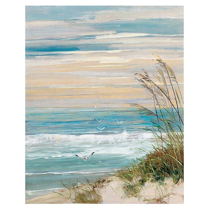 Alternate image 1 for Masterpiece Art Gallery Beach at Dusk Canvas Wall Art