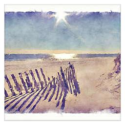 Masterpiece Art Gallery Beach Fence Canvas Wall Art