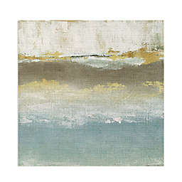 """Soft Solace Detail II by Tava Studios 24"""" Inch Square Wrapped Canvas Art Painting Print"""