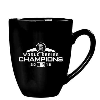 MLB Boston Red Sox 2018 World Series Champions 16 oz. Stealth Bistro Mug in Black