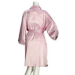 Lillian Rose™ Satin Bridesmaid Robe