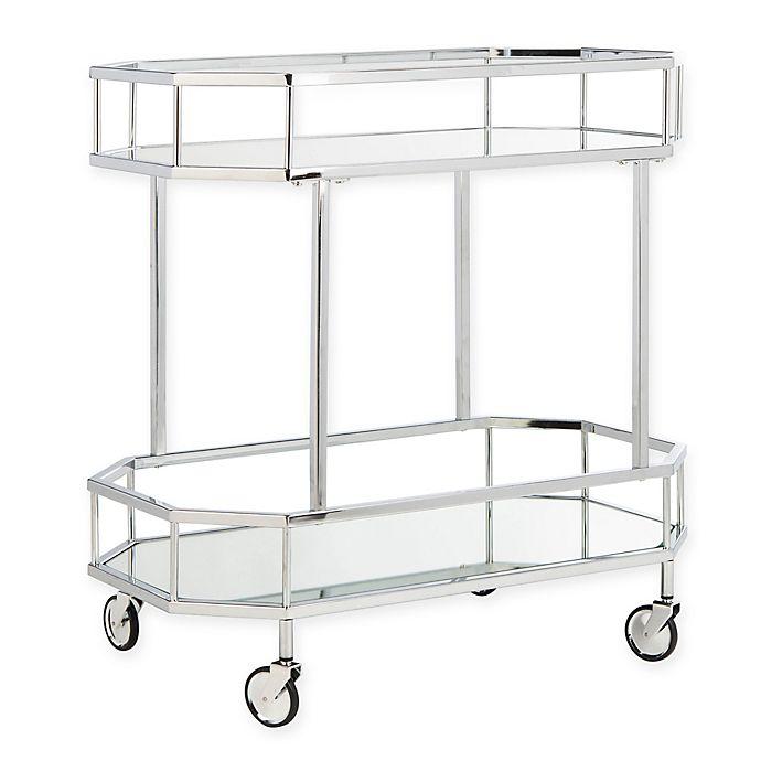 Safavieh Silva 2 Tier Octagon Bar Cart Bed Bath Beyond