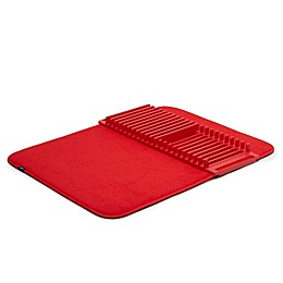 Umbra® U Dry Drying Rack with Mat in Red