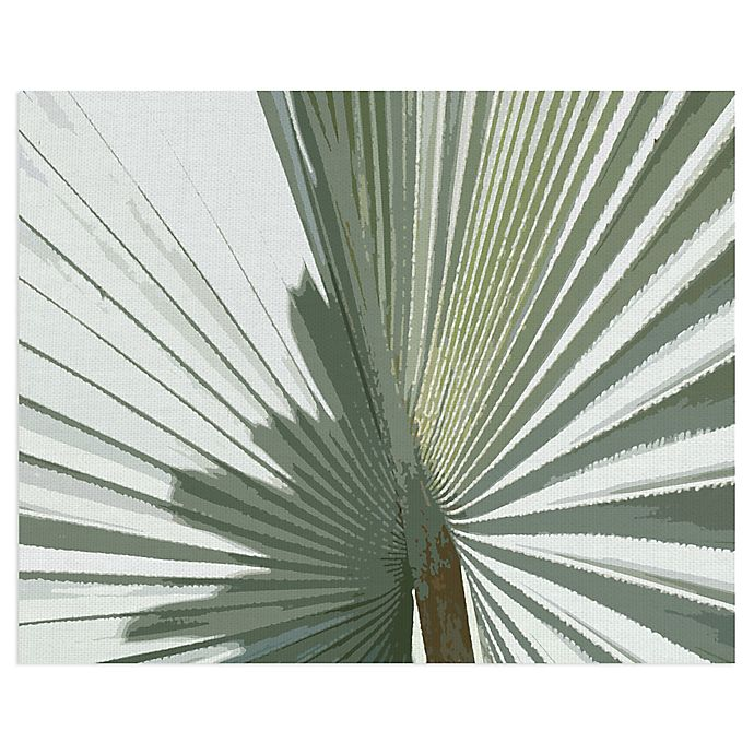 Alternate image 1 for Masterpiece Art Gallery Palms Frond II 22-Inch x 28-Inch Canvas Wall Art