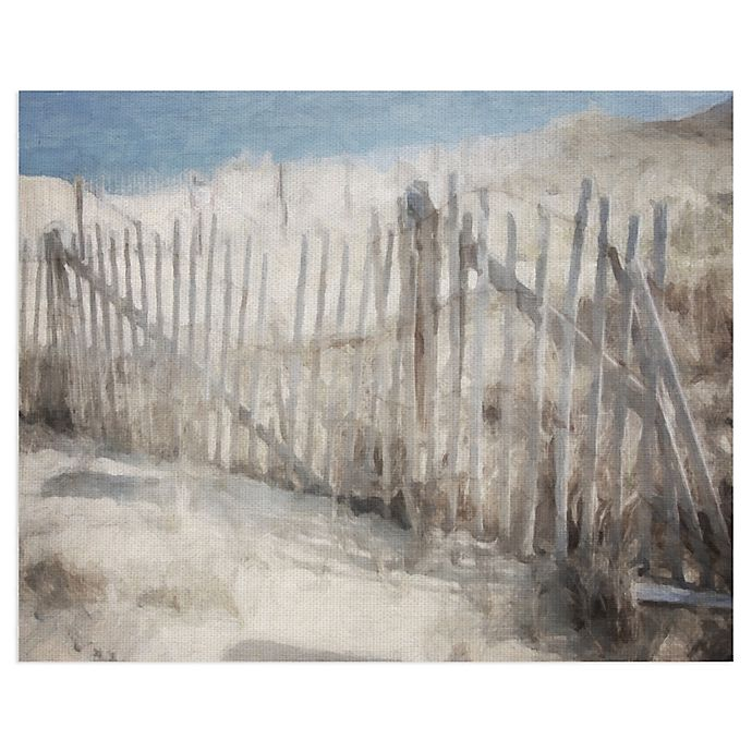 Alternate image 1 for Masterpiece Art Gallery Beach Melody Soft 28-Inch x 22-Inch Canvas Wall Art