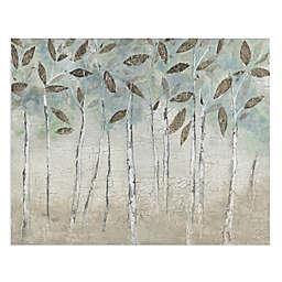 Masterpiece Art Gallery Rain Soft Woods Canvas Wall Art
