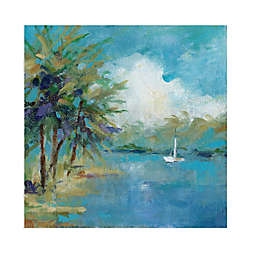 Off the Melacon by artist Carol Robinson 35-Inch Square Canvas Art Print