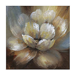 Masterpiece Art Gallery Blooming I 35-Inch Square Canvas Wall Art