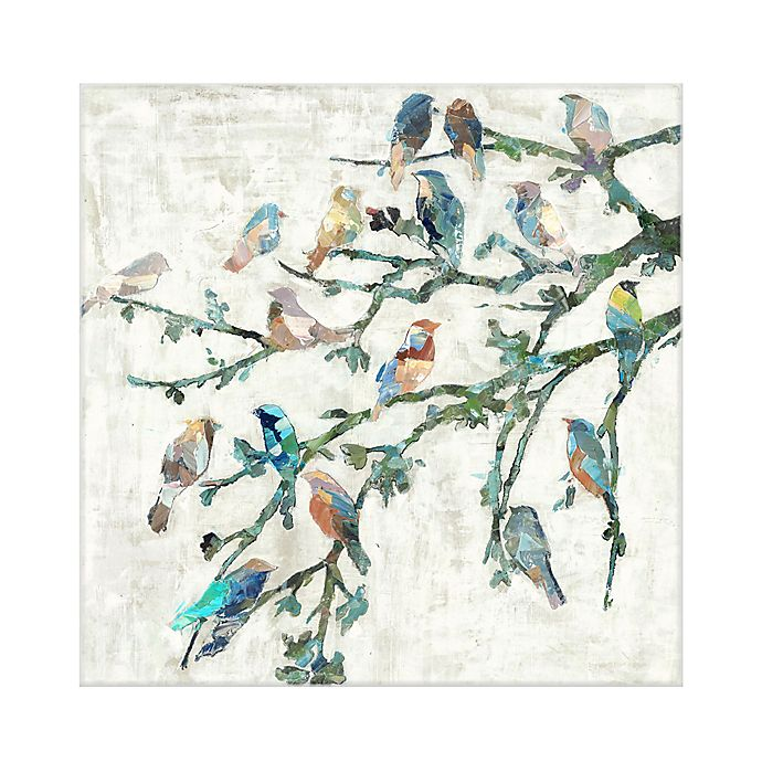 Alternate image 1 for Masterpiece Art Gallery Wings of Spring I 20-Inch Square Canvas Wall Art
