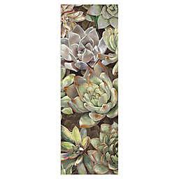 Masterpiece Art Gallery Desert Garden Panel I 36-Inch x 12-Inch Canvas Wall Art