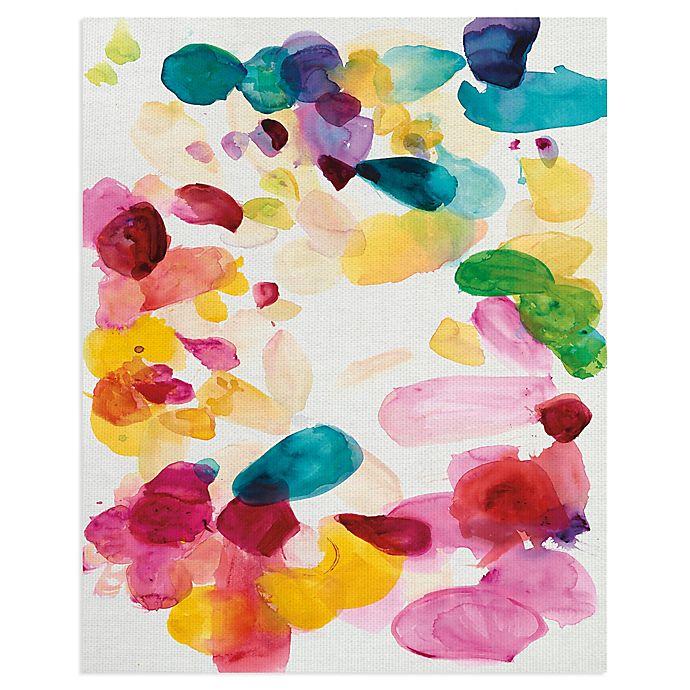 Masterpiece Art Gallery Flutter IV Canvas Wall Art   Bed Bath & Beyond