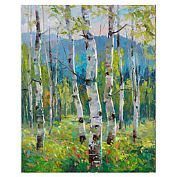 Masterpiece Art Gallery Spring Greens Canvas Wall Art