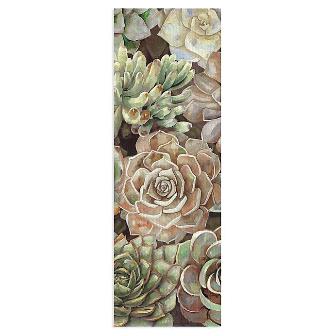 Masterpiece Art Gallery Desert Garden Panel II Canvas Wall Art