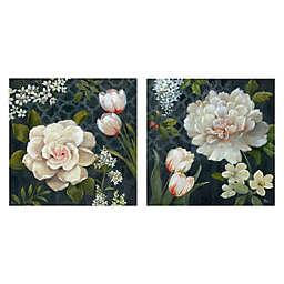 Midnight Garden I & II Canvas Wall Art (Set of 2)