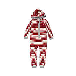 Burt's Bees Baby® Peppermint Stripe Coverall in Red