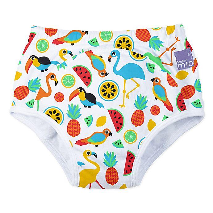 Alternate image 1 for Bambino Mio® Size 24-36-M Tropical Island Potty Training Pants
