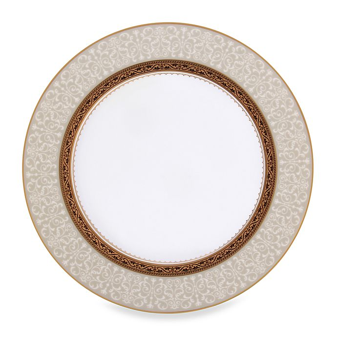 Alternate image 1 for Noritake® Odessa Gold Accent Plate