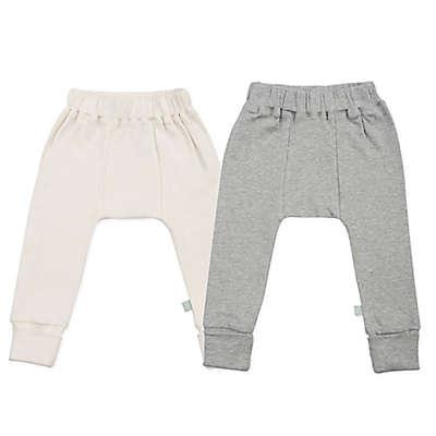 Finn + Emma® 2-Pack Organic Basics Pants in Grey