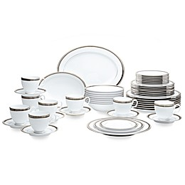 Noritake® Austin Platinum 50-Piece Dinnerware Set