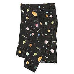 Loulou Lollipop Planet Muslin Swaddle Blanket