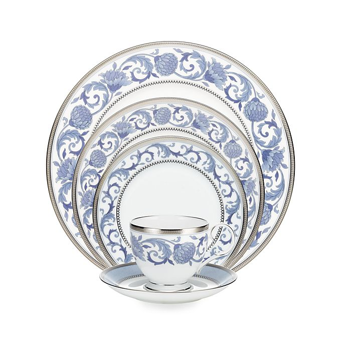 Alternate image 1 for Noritake® Sonnet in Blue Dinnerware Collection