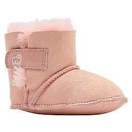 Lamo Sheepskin Baby Bootie in Pink