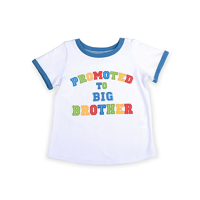 Alternate image 1 for Mud Pie® Big Brother T-Shirt in White