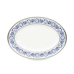 Noritake® Sonnet in Blue 14-Inch Oval Platter