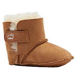 Lamo Sheepskin Baby Bootie in Chestnut