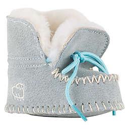 Lamo® Sheepskin Baby Moc in Light Blue