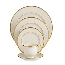 Lenox® Tuxedo™ Gold Dinnerware Collection