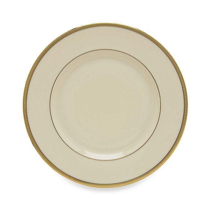 Alternate image 1 for Lenox® Tuxedo™ Gold Salad Plate