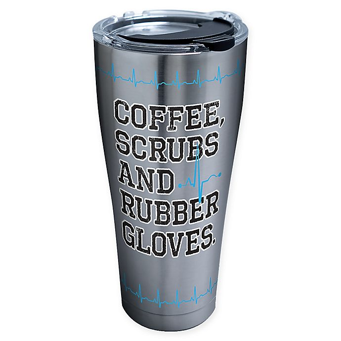 Alternate image 1 for Tervis® Nurse Life 30 oz. Stainless Steel Tumbler with Lid