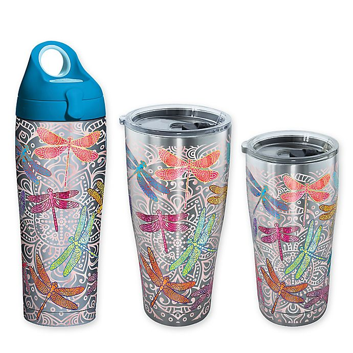 Alternate image 1 for Tervis® SIC® Dragonfly Mandala Stainless Steel Drinkware
