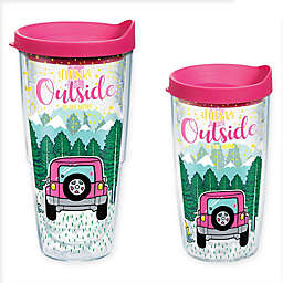 """Tervis® Simply Southern® """"Think Outside"""" Wrap Tumbler with Lid"""
