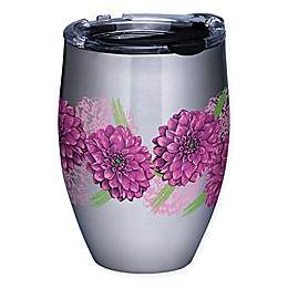 Tervis® Painted Dahlias 12 oz. Stainless Steel Stemless Wine Glass with Lid