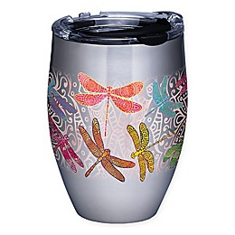 Tervis® Dragonfly Mandala 12 oz. Stainless Steel Stemless Wine Glass with Lid