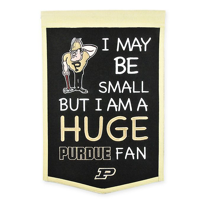 Alternate image 1 for Purdue University Lil Fan Traditions Banner