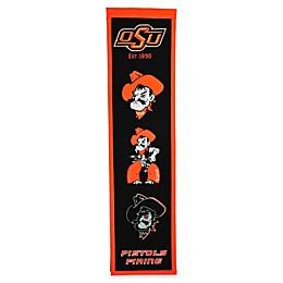 Oklahoma State University Evolution of Logos Banner