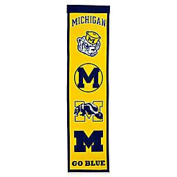 University of Michigan Evolution of Logos Banner