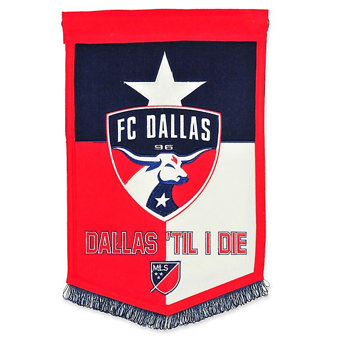 Alternate image 1 for MLS FC Dallas Traditions Banner