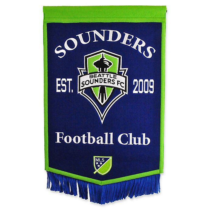 Alternate image 1 for MLS Seattle Sounders Traditions Banner